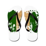 Norfolk Island Flag Flip Flops