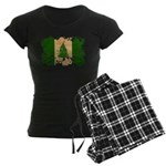 Norfolk Island Flag Women's Dark Pajamas