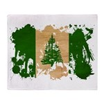 Norfolk Island Flag Throw Blanket