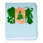 Norfolk Island Flag baby blanket