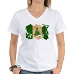 Norfolk Island Flag Women's V-Neck T-Shirt