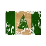 Norfolk Island Flag Rectangle Magnet