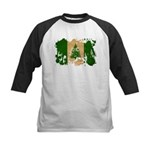 Norfolk Island Flag Kids Baseball Jersey