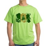 Norfolk Island Flag Green T-Shirt