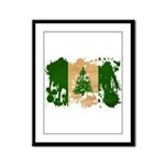 Norfolk Island Flag Framed Panel Print