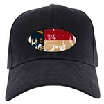 North Carolina Flag Black Cap