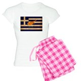 Greek Cyprus Flag pajamas
