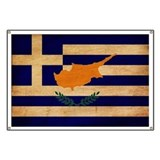 Greek Cyprus Flag Banner