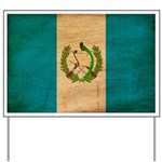 Guatemala Flag Yard Sign