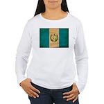 Guatemala Flag Women's Long Sleeve T-Shirt