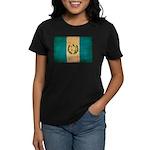 Guatemala Flag Women's Dark T-Shirt