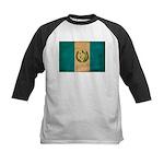 Guatemala Flag Kids Baseball Jersey