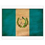 Guatemala Flag Small Poster