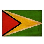 Guyana Flag Postcards (Package of 8)