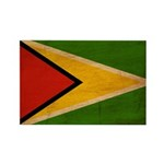 Guyana Flag Rectangle Magnet (10 pack)