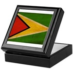Guyana Flag Keepsake Box