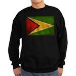 Guyana Flag Sweatshirt (dark)