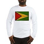 Guyana Flag Long Sleeve T-Shirt