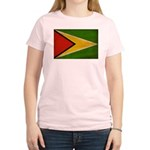 Guyana Flag Women's Light T-Shirt