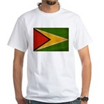 Guyana Flag White T-Shirt