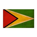 Guyana Flag 38.5 x 24.5 Wall Peel