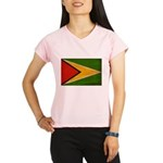 Guyana Flag Performance Dry T-Shirt
