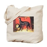 Landseer's Enos Greyhound Tote Bag
