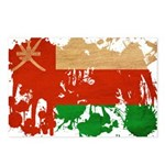 Oman Flag Postcards (Package of 8)