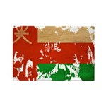 Oman Flag Rectangle Magnet (100 pack)