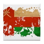 Oman Flag Tile Coaster