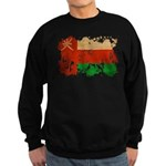Oman Flag Sweatshirt (dark)