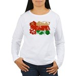 Oman Flag Women's Long Sleeve T-Shirt