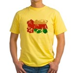 Oman Flag Yellow T-Shirt