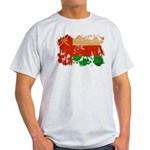 Oman Flag Light T-Shirt