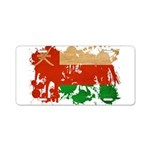 Oman Flag Aluminum License Plate