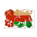 Oman Flag Car Magnet 20 x 12