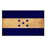 Honduras Flag Sticker (Rectangle 50 pk)
