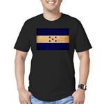 Honduras Flag Men's Fitted T-Shirt (dark)