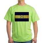 Honduras Flag Green T-Shirt