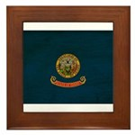 Idaho Flag Framed Tile