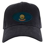 Idaho Flag Black Cap
