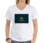 Idaho Flag Women's V-Neck T-Shirt