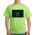 Idaho Flag Green T-Shirt
