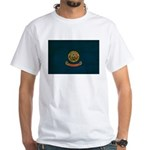 Idaho Flag White T-Shirt