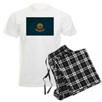 Idaho Flag Men's Light Pajamas