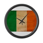 Ireland Flag Large Wall Clock