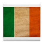 Ireland Flag Tile Coaster