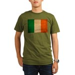 Ireland Flag Organic Men's T-Shirt (dark)