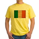 Ireland Flag Yellow T-Shirt