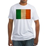 Ireland Flag Fitted T-Shirt